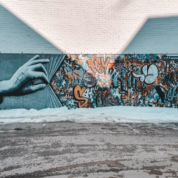 Street art w Norwegii